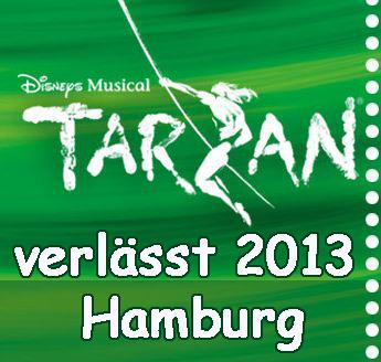 Disneys Tarzan verlässt hamburg
