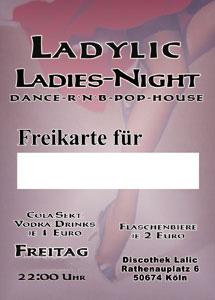 Freikarten LaLic Köln